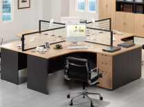 Synergy L- Shaped Workstation