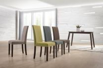 Elva 6 Seater Dining Set (Brown)