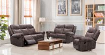 William Aire Leather Recliner Sofa Set