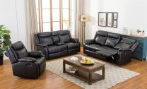 Henry Aire Leather Recliner Sofa Set