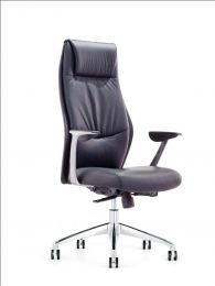 Hierarchy High Back Leather Office Chair