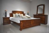 Ares King Bed with 2 Night stands