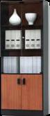 DELTA HIGH GLASS CABINET (LCOF5F-4)