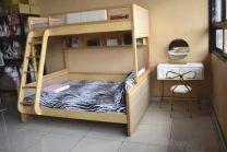 Liam Bunk Bed (Beige)