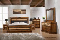 Casablanca King Bed Set