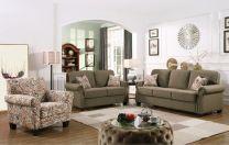 Catania Fabric Sofa Set (6 seater)