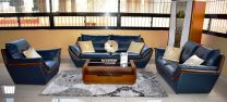 Charles Leather Sofa Set