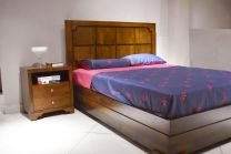 Cupertino Queen Bed with 2 Night stands