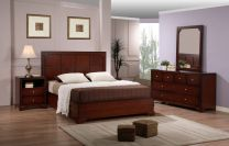 Cubic Queen Size Bed Set