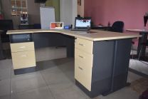 UNITY DESK WITH PEDESTAL (FEDPP03)