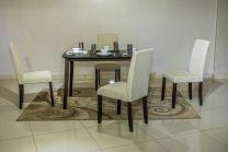 Elva 4 Seater Dining Set (Beige)