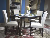 Elva 4 Seater Dining Set (Beige)