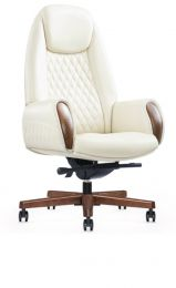 President High Back Leather Office Chair