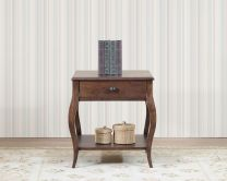 Graz Solid Wood End Table