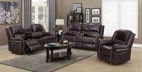 Harry Aire Leather Recliner Sofa Set