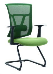 OSCAR MESH VISITOR OFFICE CHAIR(RED BLACK)
