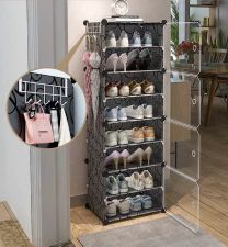 LULU SHOE RACK (BLACK)