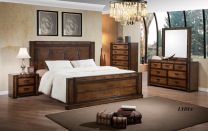Lydia King Bed with 2 Night stands