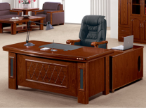 Dark Brown Executive Desk