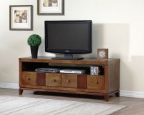 Retro Wooden TV Stand