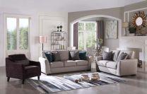 Tallin Fabric Sofa Set (6 seater)