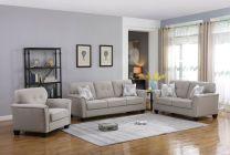 Lyon Fabric Sofa Set (6 seater)