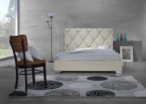 Sofia Queen Size Bed with 2 Nightstands