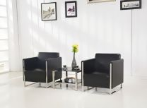 Concord Leather Office Single Sofa