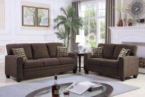 Verona Fabric Sofa Set (6 seater)