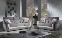 Vienna Fabric Sofa Set (6 seater)