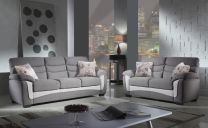 Vienna Fabric Sofa Set (7 seater)