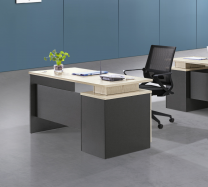 Burns 1.4M Office Desk (YC16D1482)