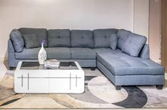 Marilyn L-Shaped Sofa (Grey)