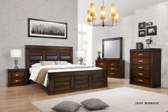 Leon Queen Bed With 2 Night stands