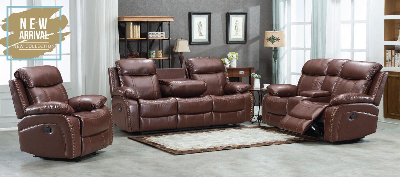 Edwin Recliner Sofa